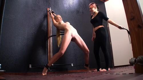 Cassandra Crimson and Rachel Greyhound - Chastity Belt Presentation