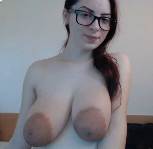 Pregnant Virt model, large Breasts, huge areolas. -  (-2017)