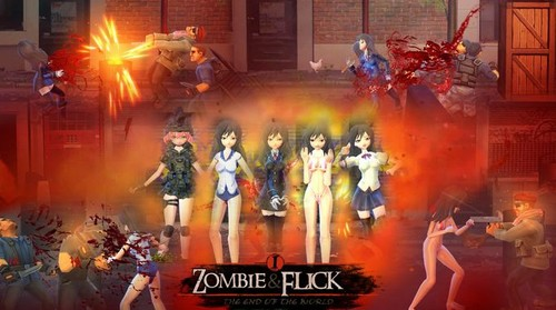 Zombie and Flick by Yiming