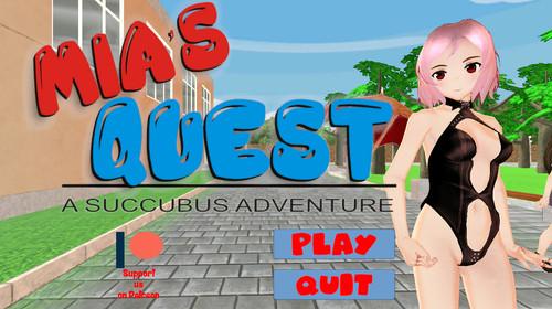 Bald Hamster Games - Mia's Quest: A Succubus Adventure - Version 2018-11-02