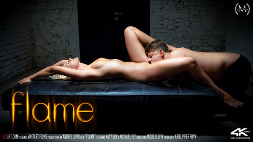 title2:SexArt Katy Sky & Michael Fly Flame - Girlsdelta