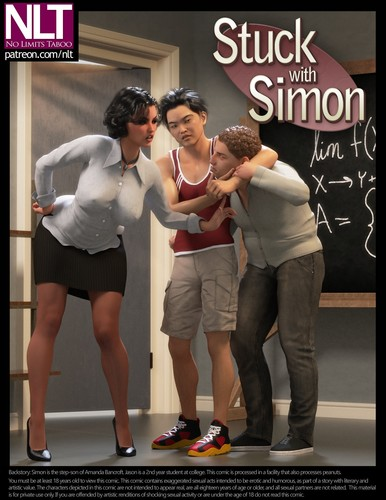 Stuck-With-Simon (NLT) Cover