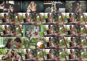 VivThomas Tina Kay BTS Tina Kay On Location