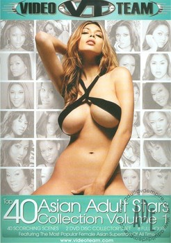 Top 40 Asian Adult Stars Collection Vol 1