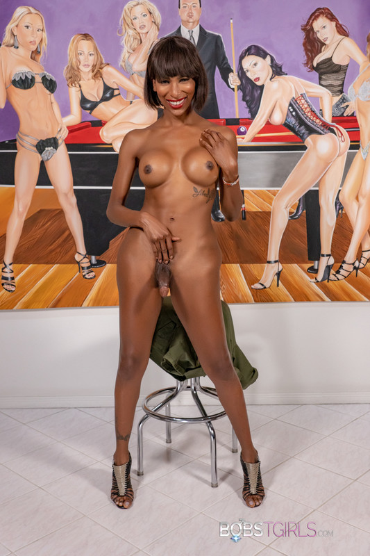 Ebony Shemale Natassia Dream