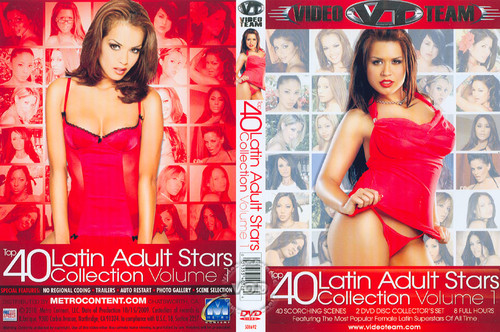Top 40 Latin Adult Stars Collection Vol 1