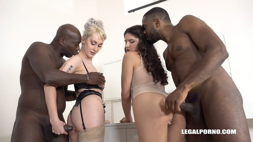 High sex &good fucking with two sexy bitches Francesca Dicaprio amp Maxim of Law Part 1 IV248 - Francesca Dicaprio, Maxim Law, Joachim Kessef, Darnell Black (LegalPorno.com-2018)