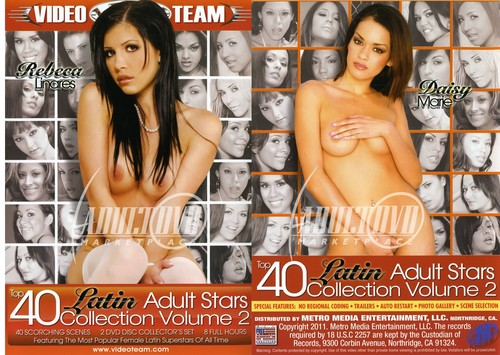 Top 40 Latin Adult Stars Collection Vol 2