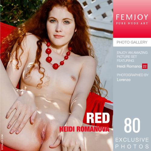 Heidi Romanova - Red (10-12-2018)