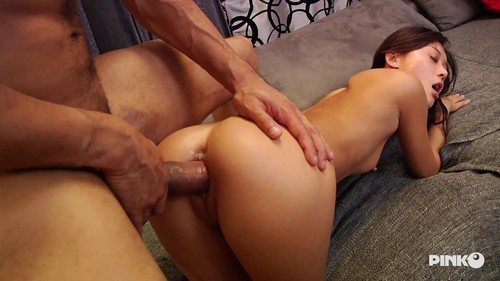 Alina Li  - Asian Babe Gets A Hard Dick Right In Her Tight Pussy  [2018 SD]