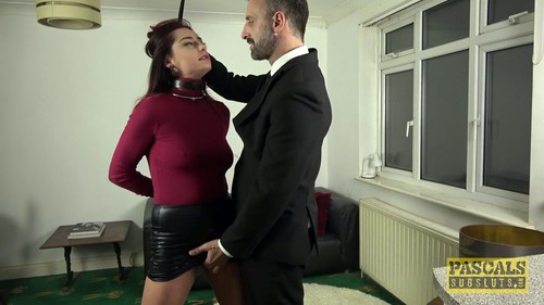 PascalsSubSluts - Cat Collar - First Porno For Sex-Addicted Slag