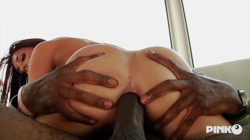 Cute Girl Gets Her Ass Kicked By A Horny Black Cock  [HD]