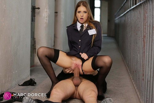 Dorcel Club - Rebecca Volpetti Is Into Prison Guards