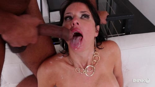Very Slutty Brunette MILF Takes An Hard Black Cock All In The Ass  [SD]