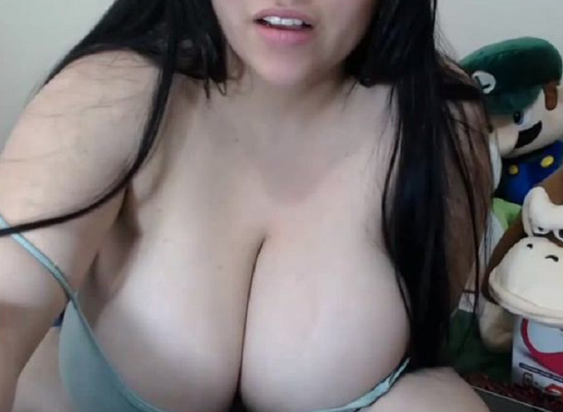 Latin Teen BBW With Ultra Huge Boobs