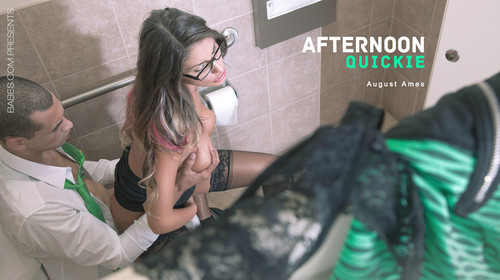 [Babes] August Ames ( Afternoon quickie / 17.03.15) [2015 , all sex]
