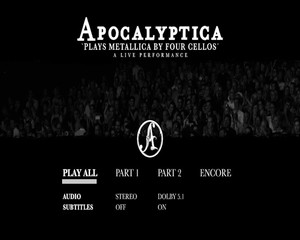 Apocalyptica - Plays Metallica by Four Cellos: A Live Performance (2018) [DVD9]