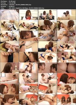 JL-05 When I Became a Lesbian. vol. 5 - Uniform, Schoolgirl, Mion Tachibana (Suzuka Ishikawa), Lesbian Kissing, Lesbian, Kokomi Naruse (Kokomi), 69