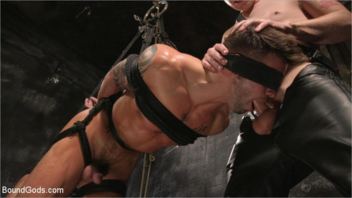 BoundGods – A Hard Place (Casey Everett Tormented And Fucked In Full Suspension)