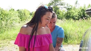Innocent student CzechHitchhikers