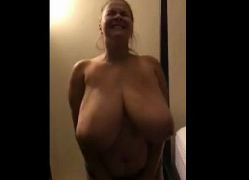 Huge heavy oversized tits
