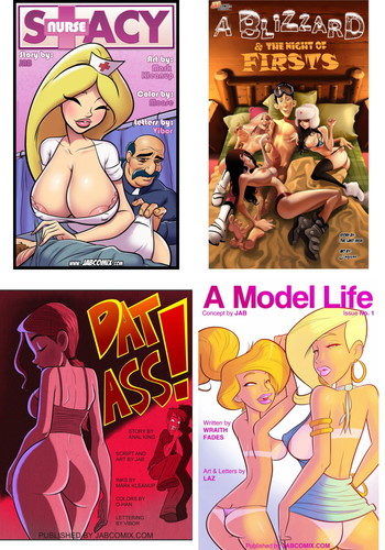 new JAB Comix Collection Cover