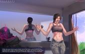 OrionArt - Lara's Curse (Tomb Raider porn comic)