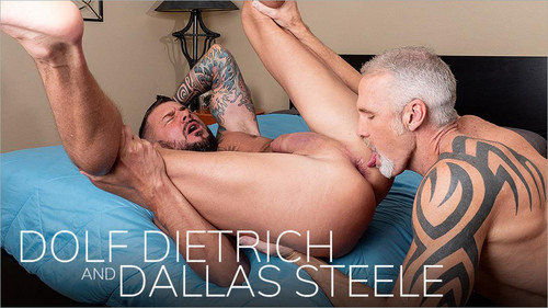 BarebackThatHole – Dripping (Dolf Dietrich & Dallas Steele) Bareback