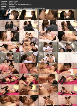 CWM-112 Of Course You Are the Beautiful Girl For Me - Lesbian Series Fever Ch. 3 Love - Ryoko Hirosaki Mika Osawa - Small Tits, Schoolgirl, Ryoko Hirosaki, Mika Osawa (Mariko Hirota), Lesbian