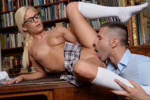 Candee Licious - Let me clean your glasses!