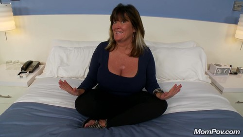 Mompov.com -   Rhonda 50 year old with huge natural DDD tits