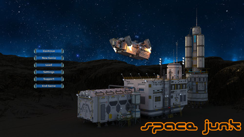 Twin Star - Space Junk - Version 0.1