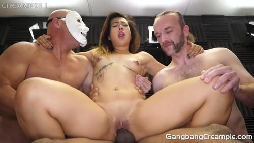 GangbangCreampie - Aubree Ice - GangBang Creampie 201