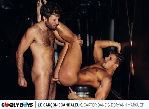 CockyBoys – Le Garcon Scandaleux Part 3: Carter Dane & Doryann Marguet