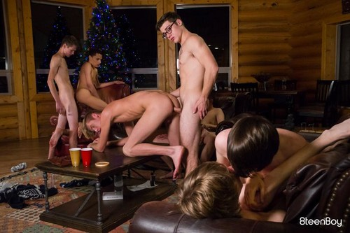 8TeenBoy – Winter Break Vol. 10: Keeping Warm Bareback