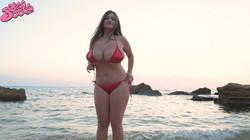 Demmy Blaze - Demmy's Red Bikini       74 pics -