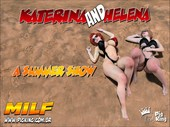 Katerina & Helena - A Summer Show Part 1-2 from Pig King