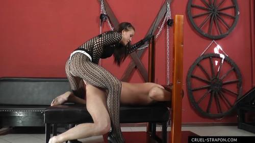 Mistress Anette - Anette treats him rough