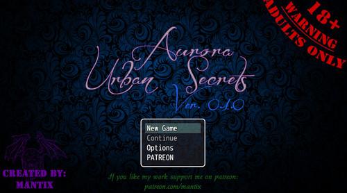 Mantix - Aurora: Urban Secrets - Version 0.2.1
