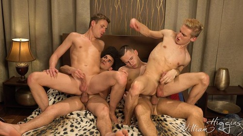 WilliamHiggins – Wank Party #106 Part 2 Bareback