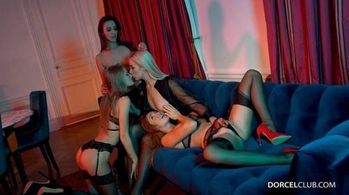 Amirah Adara, Red Fox, Tiffany Tatum - Lesbian Orgy (2019/DorcelClub.com/FullHD)