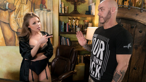 Britney Amber, Derrick Pierce -  The Critic (FantasyMassage/2019/FullHD, HD, SD)