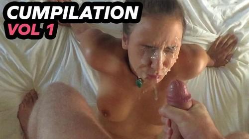 5x Facial cumshots with slow mo Volume 1 - Mariah Leonne