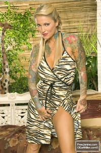 Janine Lindemulder - Jungle Set - Tiger Dress