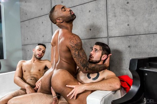 NoirMale - Model Behavior (Dante Colle, Remy Cruze & Tyson Rush)