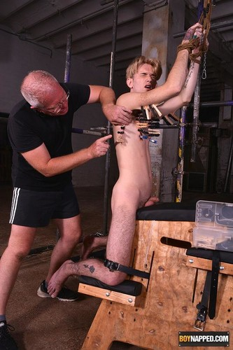 BoyNapped – Working On Twinky Boy Jacob Part 2 (Jacob Daniels & Sebastian Kane)