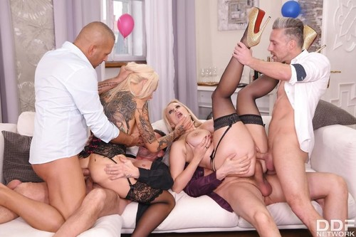 New Years Eve Orgy [SD]