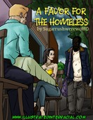 A Favor For The Homeless by illustratedinterracial