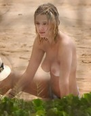 Ashley Benson Caught Topless at the Beach!