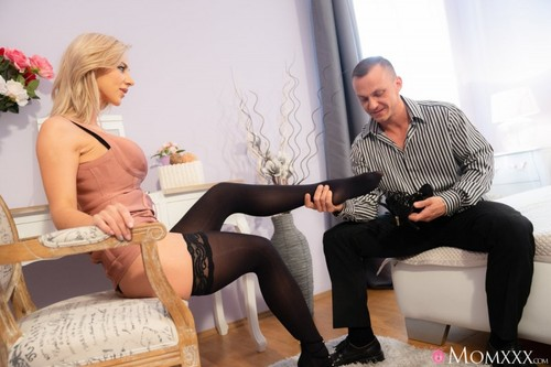 Nathaly Cherie - Slow romantic fuck in stockings